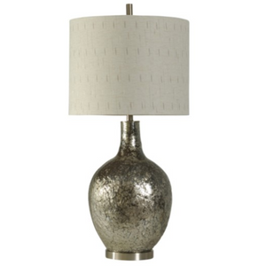 058-Table Lamp - Navarro | Textured Glass - 13 Hub Lane - Style Craft Table Lamp type_Lighting Type_Table Lamp