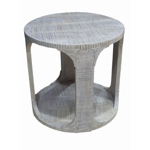 068-End Table - Greyson / Round - 13 Hub Lane - Accent Table Old South
