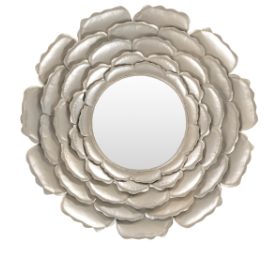 Lotus Decorative Mirror - 13 Hub Lane   |  Mirror