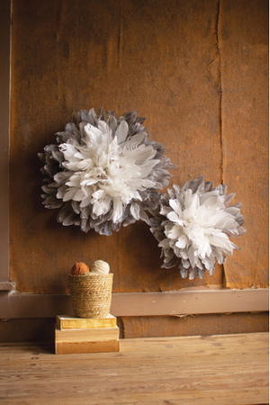 Feather Wall Decor - 13 Hub Lane   |