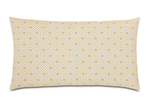 Cyrus Straw King Sham - 13 Hub Lane   |  Decorative Pillow