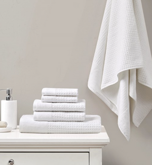 6 PC Spa Waffle Towel Set - 13 Hub Lane   |