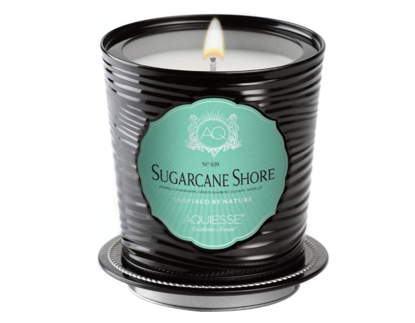 Sugarcane Shore Luxe Tin Candle - 13 Hub Lane   |  Candle