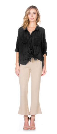 Maven West Cargo Pocket Top