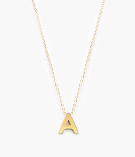ABLE Letter Charm Necklace