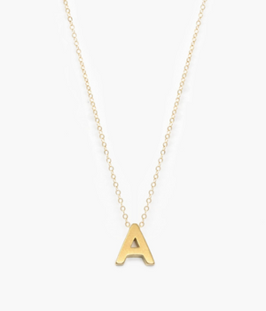 ABLE Letter Charm Necklace - 13 Hub Lane   |  Necklace