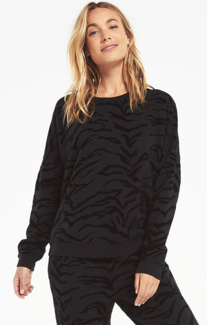 Z Supply Marin Tiger Sweatshirt - 13 Hub Lane   |