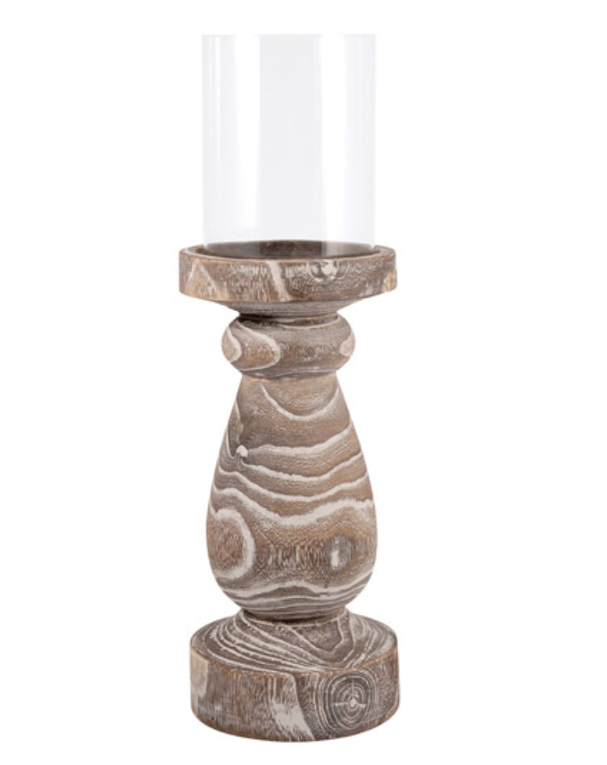 Timberline Pillar Holder - 13 Hub Lane   |  Candle Holder