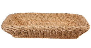 Hand-Woven Seagrass Basket - 13 Hub Lane   |  Basket