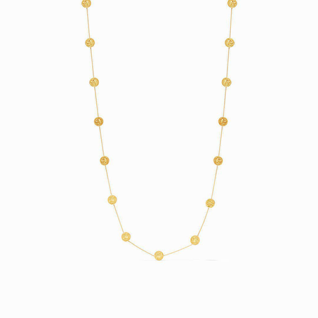 Julie Vos Coin Delicate Station Necklace - 13 Hub Lane   |