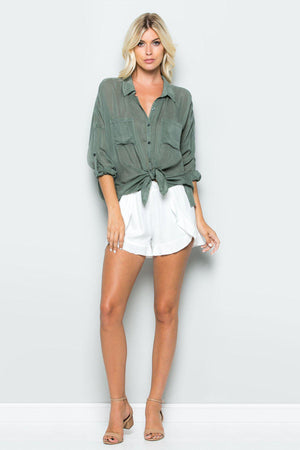 Maven West Cargo Pocket Top - 13 Hub Lane   |  Shirt