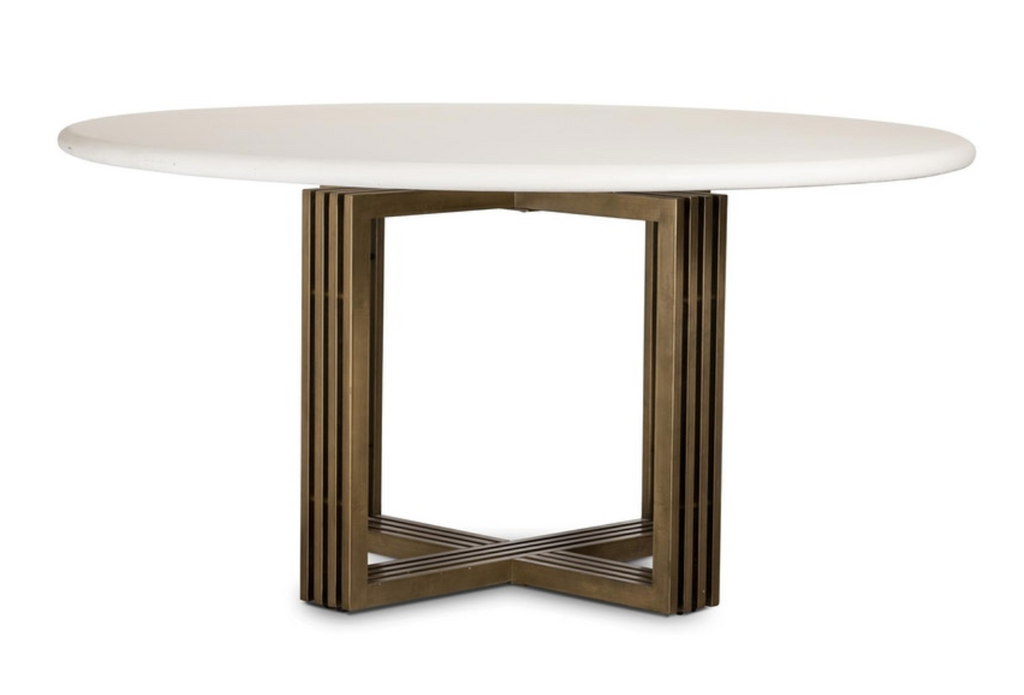 Mia Round Dining Table - 13 Hub Lane   |  Dining Table