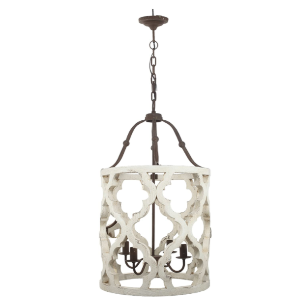 As Is - Jolette 4-Light Chandelier - 13 Hub Lane   |  Chandelier