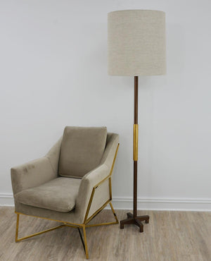 Brown & Gold Floor Lamp - 13 Hub Lane   |