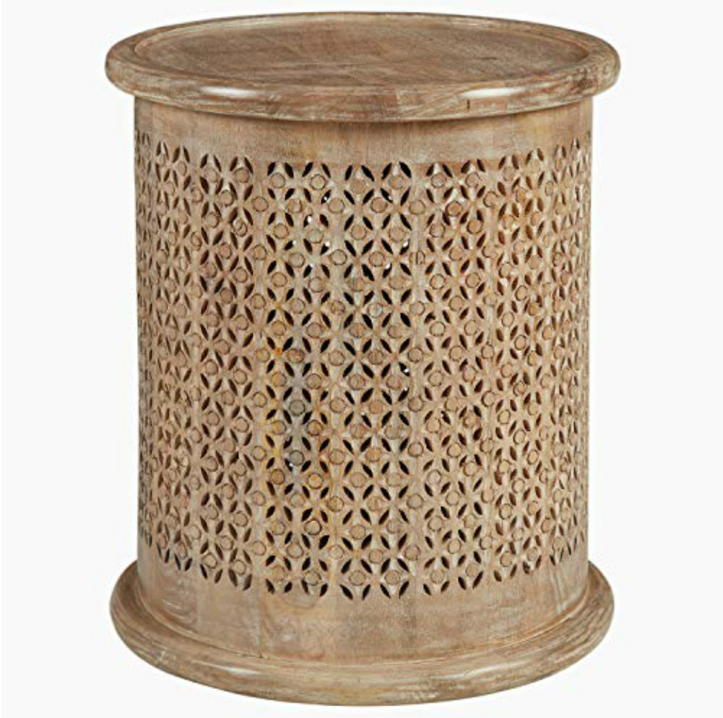 Carver Round Accent Table - 13 Hub Lane   |  Side/Accent Table