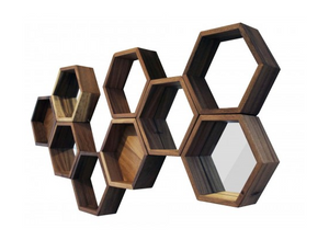 Bee Hives Wall Mirrors - 13 Hub Lane   |