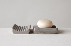 Cement Soap Dish - 13 Hub Lane   |  Soap Dish