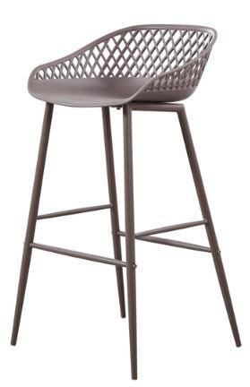 Outdoor Bar Stool MOES Piazza Grey - 13 Hub Lane   |  Stool