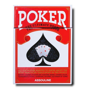 154-Assouline Books - Poker: The Ultimate Book - 13 Hub Lane - Assouline Books Home Decor