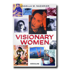 154-Assouline Books - Visionary Women - 13 Hub Lane - Assouline Books Home Decor