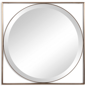 Eclipse Square Mirror