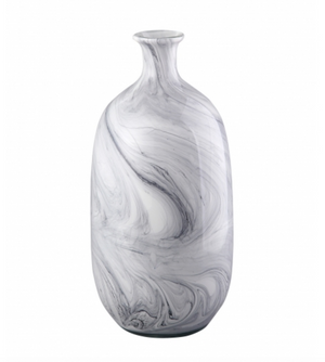 Swirl Grey Vase - 13 Hub Lane   |