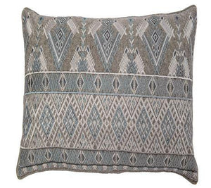 Pillow IH Geo Long Embroidery - 13 Hub Lane   |  Decorative Pillow