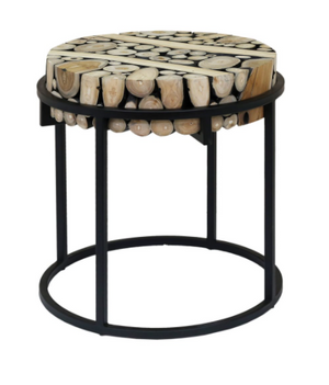 Suar Slice Side Table