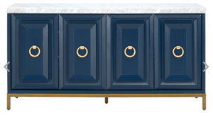 Azure Carrera Media Sideboard - 13 Hub Lane   |  Sideboard