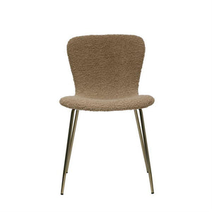 "Boucle Chair 18""W x 16""D x 30""H - 13 Hub Lane   