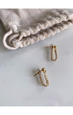 ABLE Curb Chain Earrings - 13 Hub Lane   |