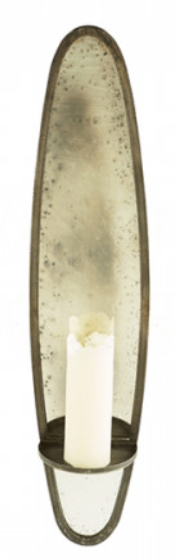 Bronx Large Rustic Candle Sconce