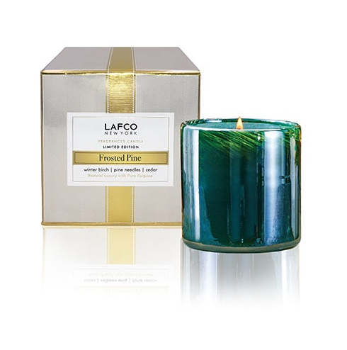 Frosted Pine Candle - 13 Hub Lane   |