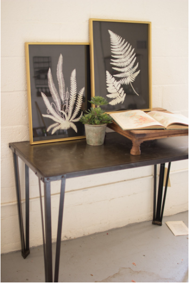 Black & White Fern Prints - 13 Hub Lane   |