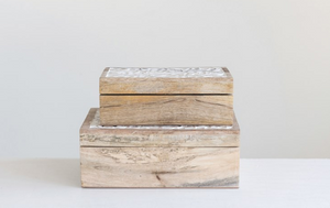 Mango Wood Boxes - 13 Hub Lane   |