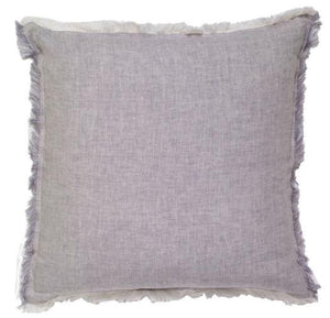 Pillow IH Solid Linen Fringe