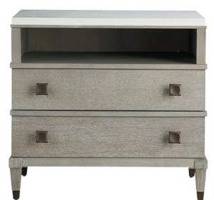 Playlist Two-Drawer Nightstand - 13 Hub Lane   |  Nightstands