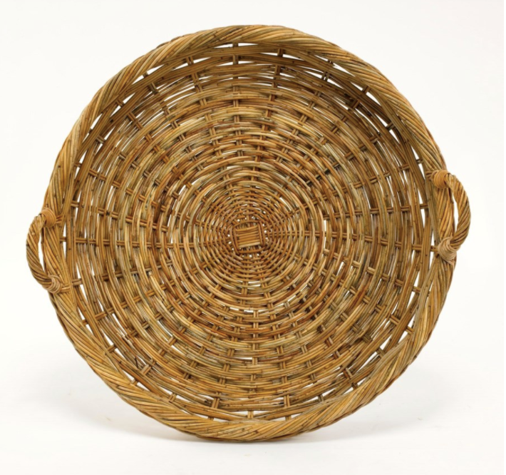 French Country Round Tray - 13 Hub Lane   |  Basket