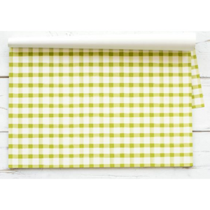 Green Painted Check Placemats - 13 Hub Lane   |  Placemat