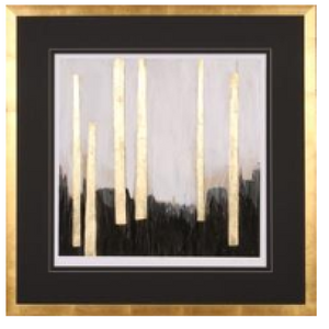 251-Wall Art - Gilt Treeline I - 13 Hub Lane - Shadow Catcher Wall Art