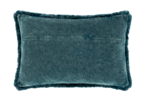 Washed Cotton Velvet Pillow - 13 Hub Lane   |
