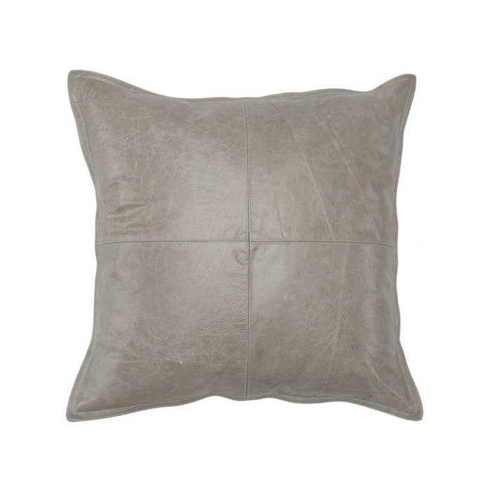 SLD Leather Pike Gray Pillow