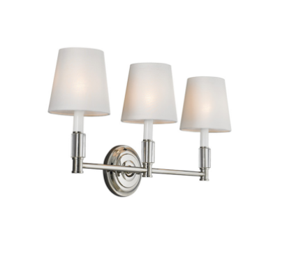 Lismore 3-Light Vanity - 13 Hub Lane   |