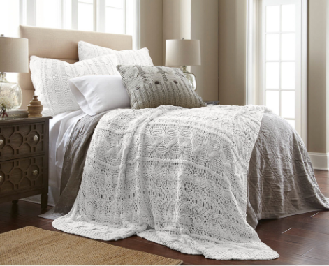 Micah Knitted Coverlet
