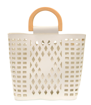 Madison Cut Out Tote - 13 Hub Lane   |  Bag