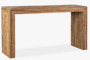 Soren Braided Seagrass Console Table