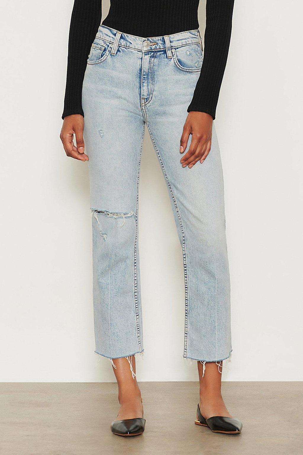 Hudson Remi High-Rise Straight Crop Jean - 13 Hub Lane   |