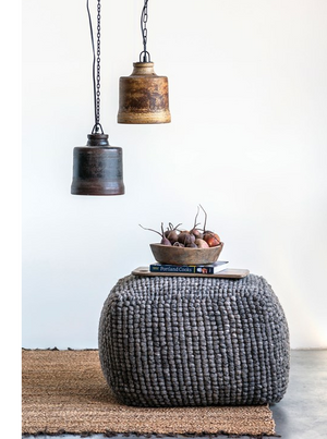New Zealand Wool Pouf - 13 Hub Lane   |