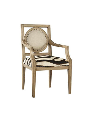 Zebra Arm Chair - 13 Hub Lane   |  Chair