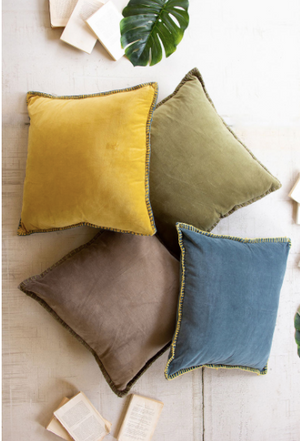 Velvet Pillow - 13 Hub Lane   |  Decorative Pillow
